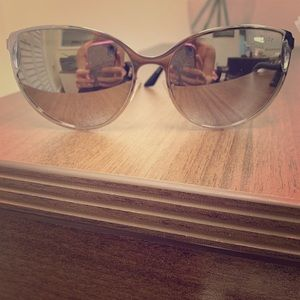 Christian Dior and Burberry sunglasses